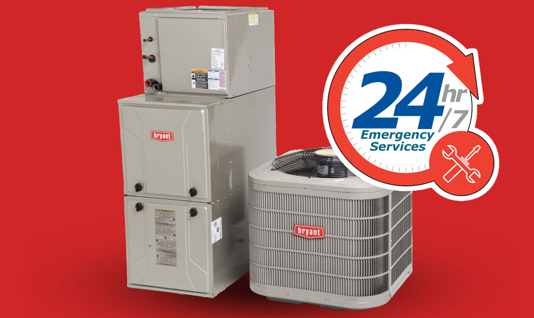24/7 Emergency Heating and Air services from Southbend Heating and Air, LLC for a portion of southern Minnesota.